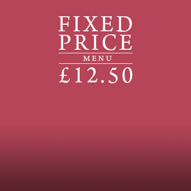 Fixed Price Menu at The Old Forge