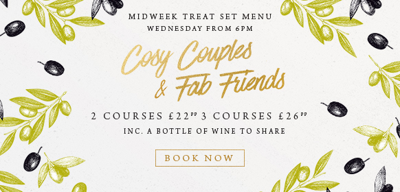 Midweek treat set menu at The Old Forge