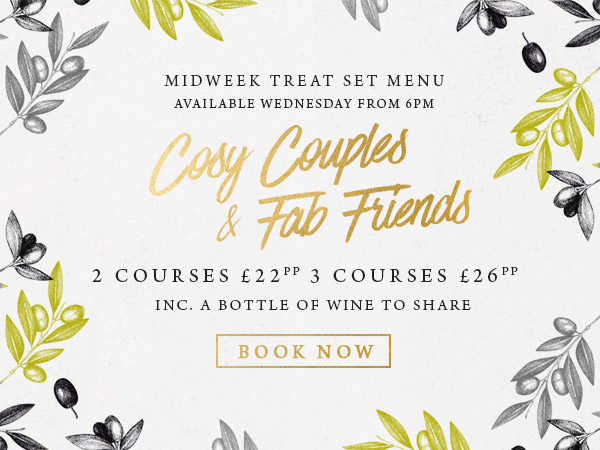 Midweek treat at The Old Forge - Book now